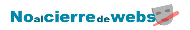 Logo iniciativa contra ley Sinde